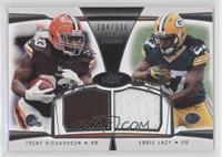 Trent Richardson, Eddie Lacy /330
