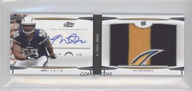 2013 Topps Prime Level IV Autograph Booklet #PIV-MT - Manti Te'o /5