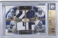 DeMarco Murray, Dez Bryant, Terrance Williams, Gavin Escobar /1 [BGS 9.5]