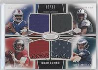 EJ Manuel, Geno Smith, Mike Glennon, Matt Barkley /10