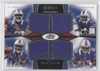 EJ Manuel, Steve Johnson, Robert Woods, Marquise Goodwin /373