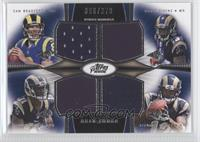 Sam Bradford, Tavon Austin, Chris Givens, Stedman Bailey /373