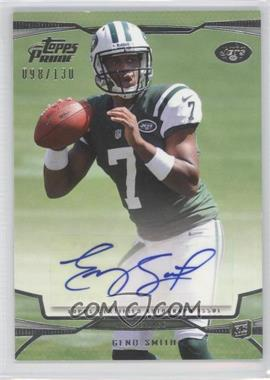 2013 Topps Prime Variations Autographs #101 - Geno Smith /130