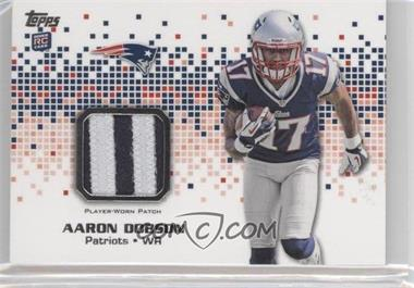 2013 Topps Rookie Patch #RP-AD - Aaron Dobson