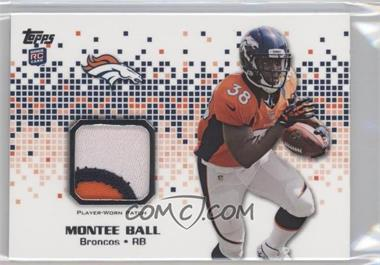 2013 Topps Rookie Patch #RP-MBA - Montee Ball