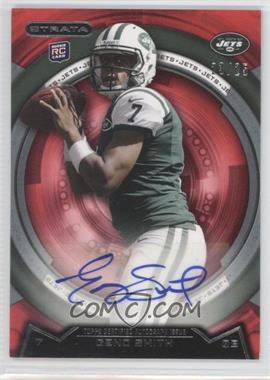 2013 Topps Strata - [Base] - Ruby Autographs [Autographed] #117 - Geno Smith /25