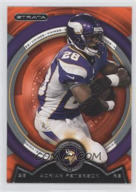 2013 Topps Strata - [Base] - Topaz Orange #10 - Adrian Peterson