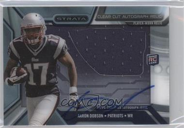 2013 Topps Strata - Clear Cut Autograph Rookie Relics #CCAR-AD - Aaron Dobson