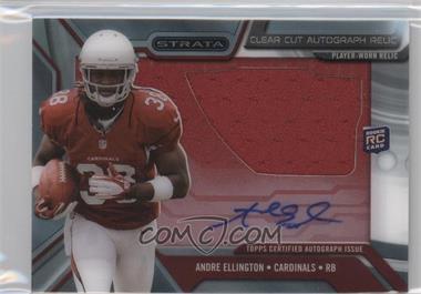 2013 Topps Strata - Clear Cut Autograph Rookie Relics #CCAR-AE - Andre Ellington