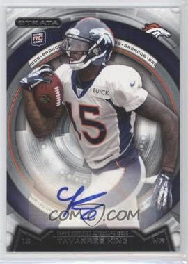 2013 Topps Strata Autographs [Autographed] #68 - Tavarres King