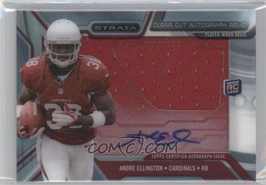 2013 Topps Strata Clear Cut Autograph Rookie Relics #CCAR-AE - Andre Ellington