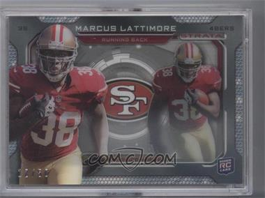 2013 Topps Strata Inserts #SS-ML - Marcus Lattimore /50