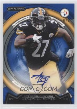 2013 Topps Strata Sapphire Autographs [Autographed] #163 - Jonathan Dwyer /75
