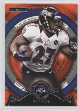 2013 Topps Strata Topaz Orange #138 - Ray Rice