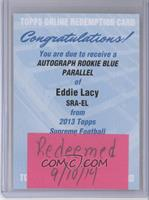 Eddie Lacy /75 [REDEMPTION Being Redeemed]