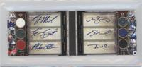 EJ Manuel, Geno Smith, Mike Glennon, Matt Barkley, Ryan Nassib, Tyler Wilson /27