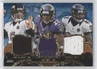 Joe Flacco, Ray Rice, Torrey Smith /3