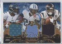 Maurice Jones-Drew, Arian Foster, Chris Johnson /3
