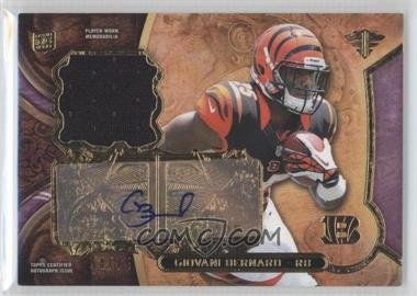 2013 Topps Triple Threads Rookie Relics Autographs Purple #TTRAR-GB2 - Giovani Bernard /75
