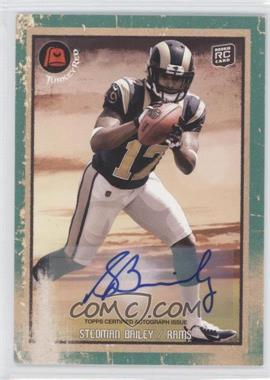 2013 Topps Turkey Red Green Autographs [Autographed] #66 - Stedman Bailey /10
