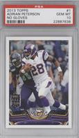 Adrian Peterson (Running Left w/ Seahawk) [PSA 10]
