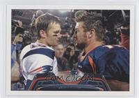 Tim Tebow W/ Tom Brady