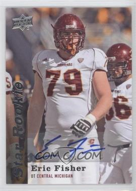 2013 Upper Deck - [Base] - Star Rookie Autographs [Autographed] #128 - Eric Fisher