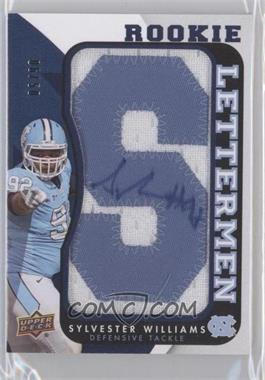 2013 Upper Deck - Rookie Lettermen Autographs #RL-SW - Sylvester Williams /50