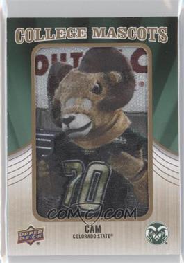 2013 Upper Deck College Mascots Manufactured Patch #CM-96 - CAM