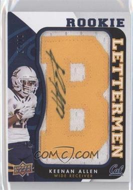 2013 Upper Deck Rookie Lettermen Autographs [???] #RL-KA - Keenan Allen /15