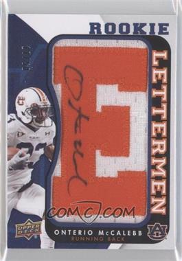 2013 Upper Deck Rookie Lettermen Autographs [???] #RL-OM - Onterio McCalebb /300
