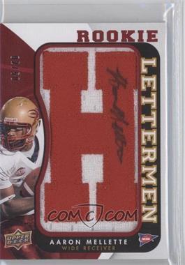 2013 Upper Deck Rookie Lettermen Autographs #RL-ME - Aaron Mellette /50