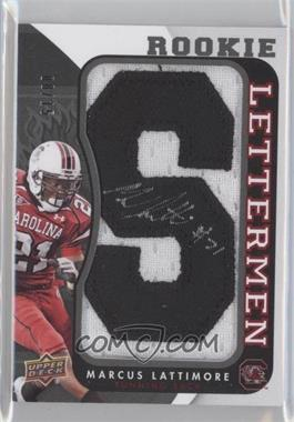 2013 Upper Deck Rookie Lettermen Autographs #RL-ML - Marcus Lattimore /15