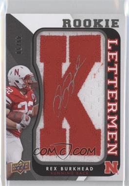 2013 Upper Deck Rookie Lettermen Autographs #RL-RB - Rex Burkhead /50