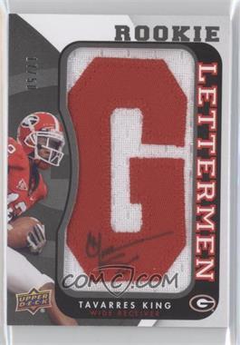 2013 Upper Deck Rookie Lettermen Autographs #RL-TK - Tavarres King /50