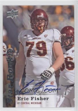 2013 Upper Deck Star Rookie Autographs [Autographed] #128 - Eric Fisher