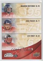 Levi Vokey, Eric Fraser, Brandon Whiteman