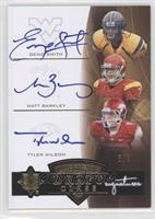 Matt Barkley, Geno Smith, Tyler Wilson /3