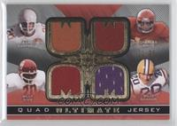 Earl Campbell, Billy Sims, Charles White, Billy Cannon /35