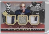 Paul Hornung, Joe Theismann, Daryle Lamonica /25