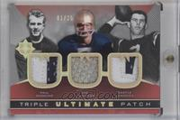 Paul Hornung, Joe Theismann, Daryle Lamonica /25 [Excellent‑Mint]