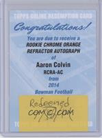 Aaron Colvin [REDEMPTIONBeingRedeemed]