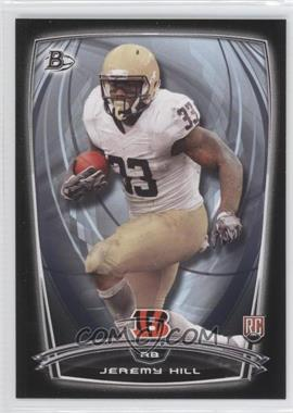 2014 Bowman Rookies Black Border #28 - Jeremy Hill