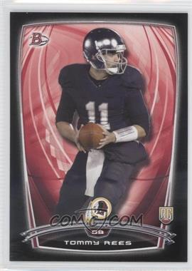 2014 Bowman Rookies Black Border #82 - Tommy Rees