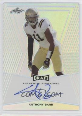2014 Leaf Metal Draft Base Autographs #BA-AB1 - Anthony Barr