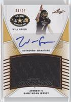 Will Grier /25