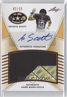 Artavis Scott /25