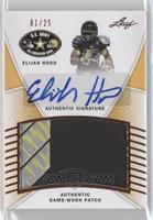 Elijah Hood /25