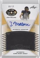 Josh Malone /10