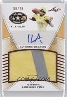 Kyle Allen /25